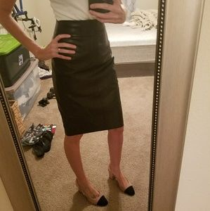 EUC Leather Skirt